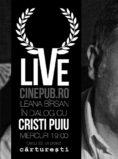 CINEPUB LIVE - Ileana Birsan in dialog cu Cristi Puiu