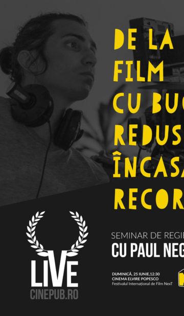 Paul Negoescu - Cinepub LIVE at NeXT