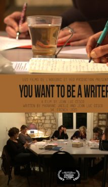 You Want to be a Writer - directed by Jean-Luc Cesco - CINEPUB documentary