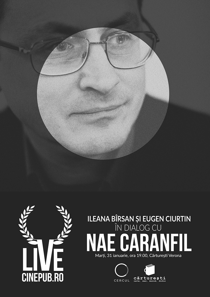 Nae Caranfil în dialog cu Ileana Bîrsan și Eugen Ciurtin