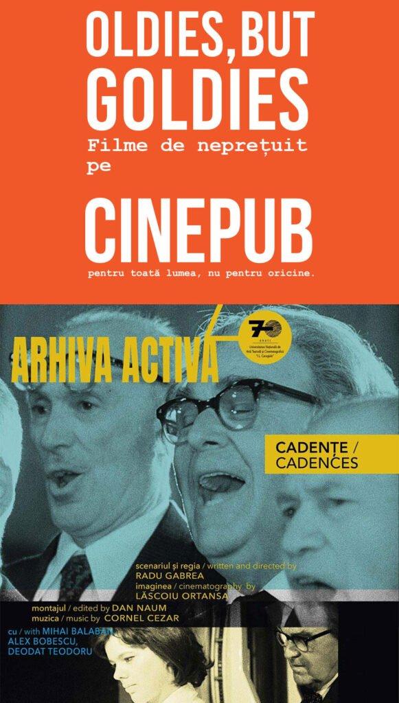 Cadence - by Radu Gabrea - UNATC & CINEPUB