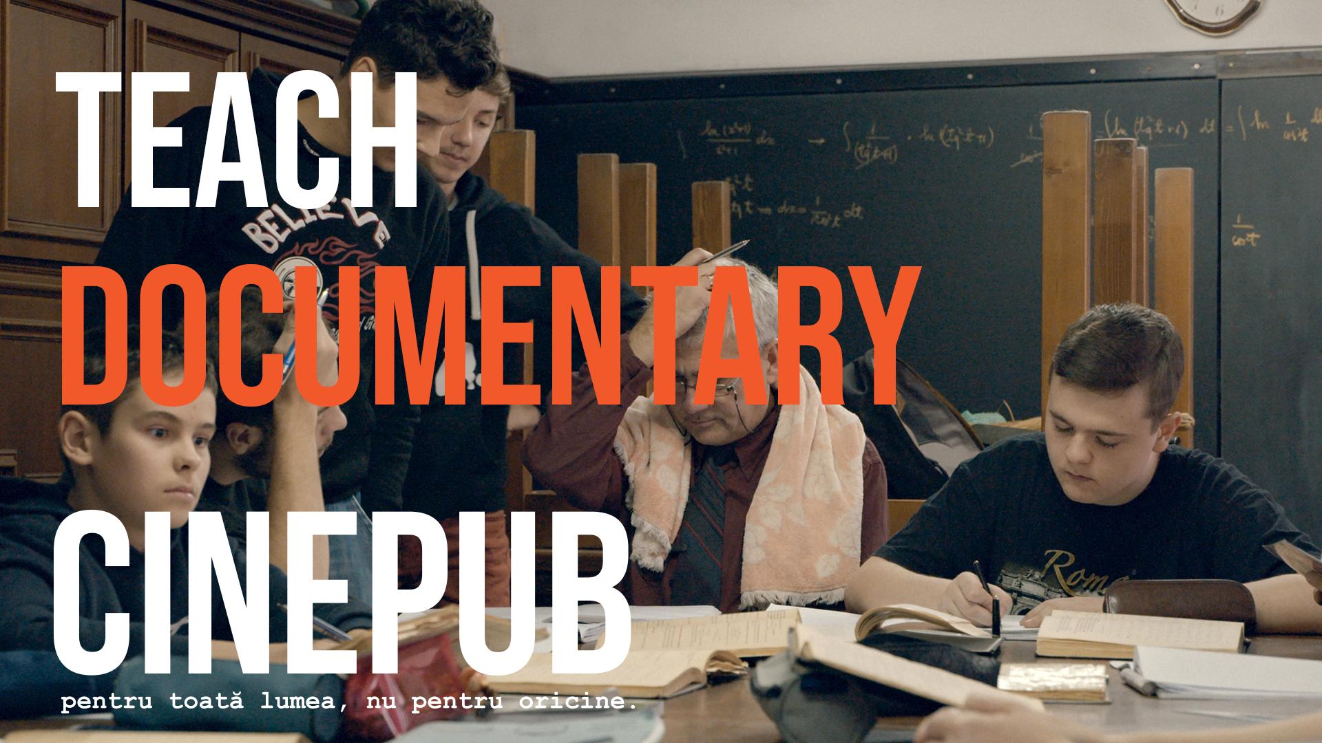 Teach - by Alex Brendea - online documentary on CINEPUB